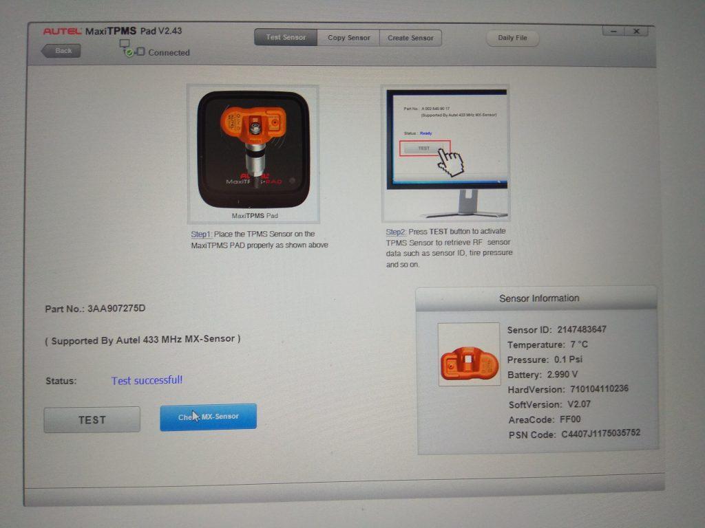 Экран с программой - программатором
