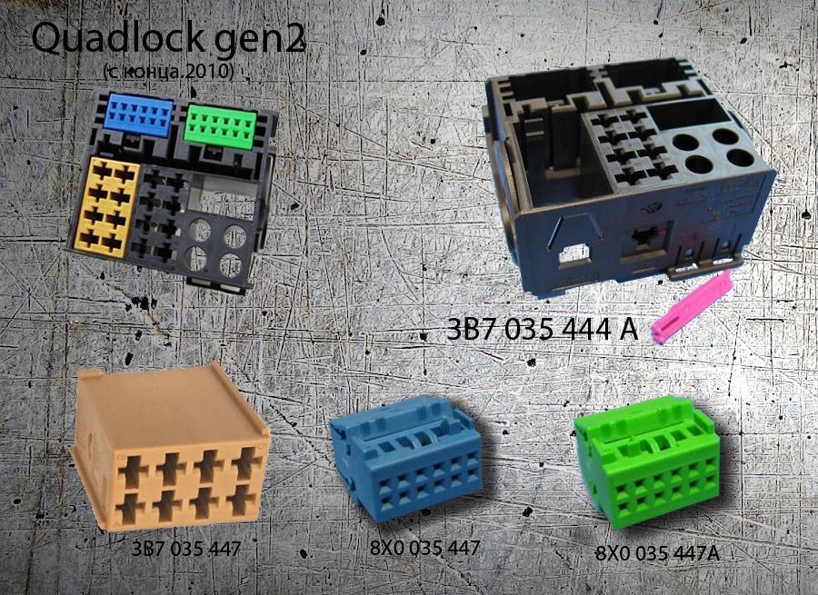 Quadlock 2го поколения 3B7 035 444 A
